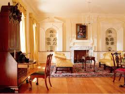 How To Create A Georgian Colonial Home Interior Freshomecom - Colonial living room design