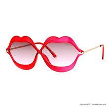 ls with red shades cute lip shape sunglasses lips kiss womens fashion shades uv 400 red