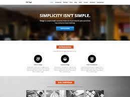 best responsive one page wordpress theme u2013 dw page