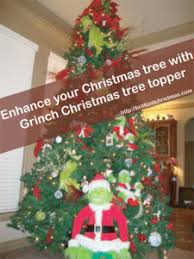 grinch christmas decorations christmas tree topper