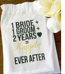 2nd wedding anniversary gift ideas for your