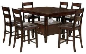 dining room glamorous dining table chairs fit underneath 5 pc