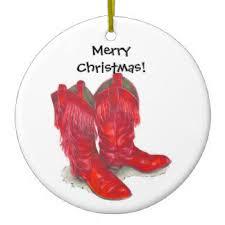 cowboy boots ornaments keepsake ornaments zazzle