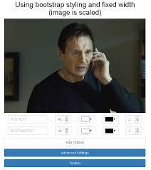 Meme Generator Javascript - jquery meme generator dev jquery pinterest