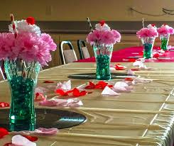 themed centerpieces 50s themed centerpieces 11946