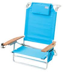 Rio Sand Chair Amazon Com Rio Brands The Big Kahuna Beach Chair Palms Blue