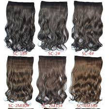 hair extension clips five clips curly synthetic hair extensions 120g 22 100 kanekalon