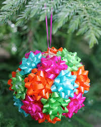 Christmas Tree Decorating Ideas With Bows by Mini Gift Bow Ornament Hometalk