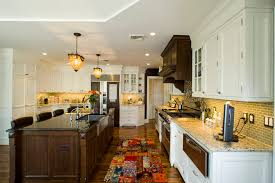 Home Design For Kitchen Bath Wood Soffit Material Kitchen Traditional With Apron Sink Breakfast