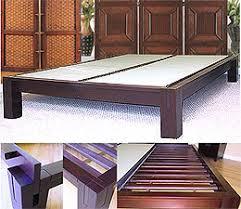 Tatami Mat Bed Frame Platform Beds Low Platform Beds Japanese Solid Wood Bed Frame