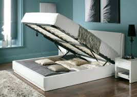 4ft Ottoman Storage Beds by Bed Bugs Wooden Bed Frame Aden High Gloss Ottoman Storage Bed