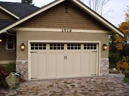 craftsman style house garage doors garageoors from waynealton model is carriage house