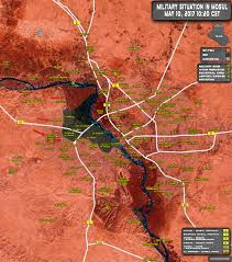 Map Of Iraq And Syria by Military Situation In Iraqi City Of Mosul On May 10 2017 Map Update