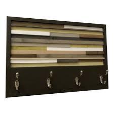 wood wall art wood art reclaimed wall art coat rack 12x27