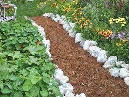 Rock Vegetable Garden Vegetable Garden Pathway Ideas Garden Design Ideas