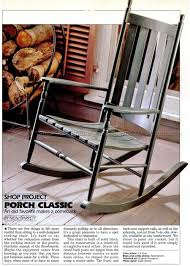Old Rocking Chair Classic Rocking Chair Plans U2022 Woodarchivist