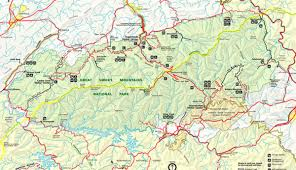 Washington Dc Map Pdf Closest Airports To Great Smoky Mountains National Park My Smoky