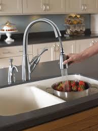 allora kitchen faucet 989 ar dst single handle pull kitchen faucet