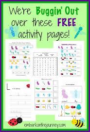 free printable bugs u0026 insects activities kids money saving mom