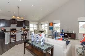 open floor plan with vaulted ceilings the chestnut chessington