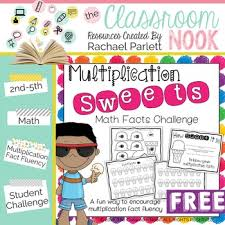 fun ways to learn your multiplication tables freebie multiplication sweets a fun way to practice