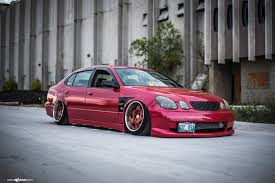 lexus slammed slammed and extremely stylish custom purple lexus gs on custom
