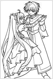 11 manga coloring pages images manga art