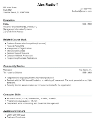 Resume Template First Job Download Resume Examples For Jobs With Little Experience
