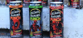 how much alcohol is in mike s hard lemonade light mike s harder lemonade deadpool movie advertising in water for
