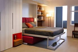 Bedroom  Futuristic Bedroom Design With Creative Bedroom Storage - Futuristic bedroom design