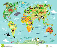 World Map Of Europe by World Map Stock Vector Image 55961183