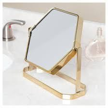 bathroom mirror gold nate berkus target