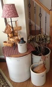 country and primitive home decor best 25 antique crocks ideas on pinterest antique decor old