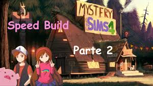 Mystery Shack Floor Plan by Sims 4 Speed Build Mystery Shack Of Gravity Falls Parte 2