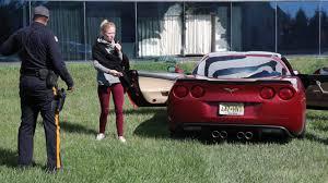 police corvette newspaper lands easy scoop corvette crashes into its office