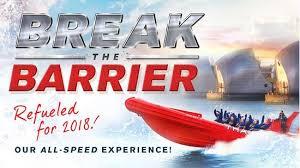 thames barrier rib voyage break the barrier 40 mins thames rockets