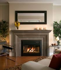 modern fireplace mantel incredible modern fireplace mantel descorating with square mirror