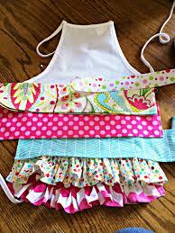 kids ruffle apron diy craft ideas pinterest ruffle apron