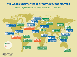 is rent burden an issue in the world u0027s best cities of opportunity