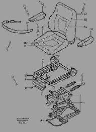 Upholstery Parts Operator Seat Isri Wheeled Excavators Volvo Ew160 Machinery