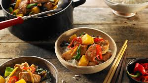 pineapple stir fried pork and pineapple recipe nyt cooking