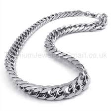 man titanium necklace images Curb chain mens titanium necklace 19217 121 titanium jewellery uk jpg