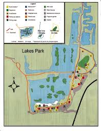 Fort Myers Florida Map by Home Lakes Park