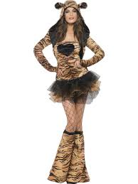 Halloween Costume Sale Uk Tiger Fancy Dress Ladies Fever Tutu Animal Costume Womens