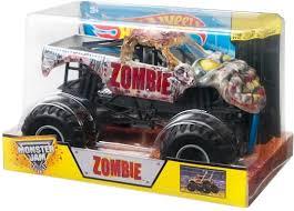 wheels monster jam trucks bol com wheels monster jam truck zombie schaal 1 24