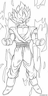 goku super saiyan coloring page within coloring pictures