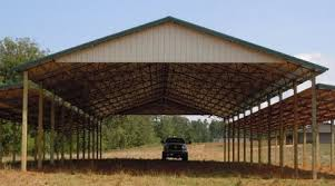 How To Build A Lean To On A Pole Barn Metal Roofing Pole Barns Steel Trusses Metal Buildings