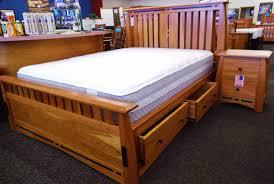 solid cherry storage bed woodsmiths furniture
