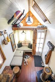 Micro Homes Interior Couple Quits Day Jobs Builds Quaint Tiny Home On Wheels To