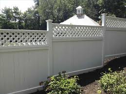 fence toppers for privacy backyard fence ideas